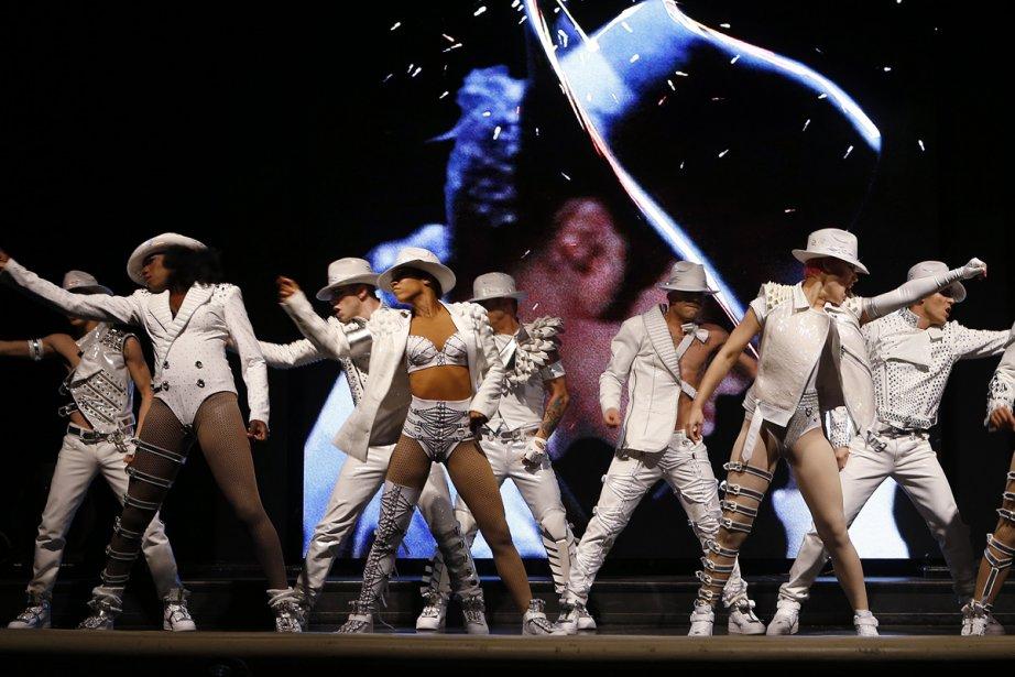 Michael Jackson ONE sera présenté uniquement dans l'amphithéâtre... (Photo: fournie par le Cirque du Soleil)
