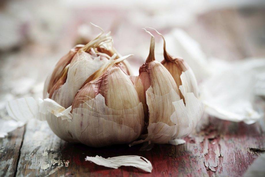 L'ail fumé d'Arleux, produit dans le nord de la... (PHOTOTHÈQUE LA PRESSE)