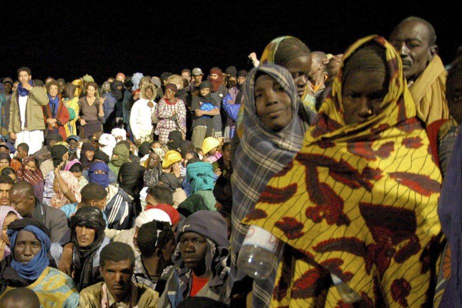 Foule au Festival au désert, en 2008.... (Photo: archives La Presse)