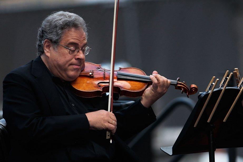 Le violoniste Itzhak  Perlman... (Photo: archives AFP)