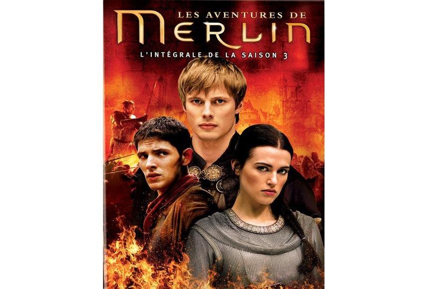 Promenade sympathique dans le cycle arthurien, Les aventures de Merlin, dont...