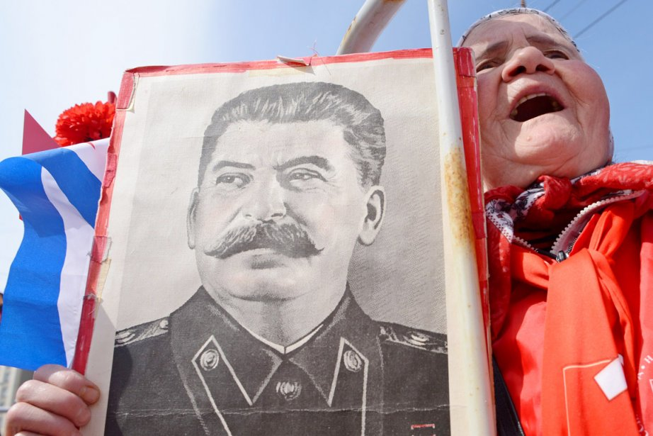 L'attitude des Russes envers Staline demeure ambivalente, entre... (PHOTO KIRILL KUDRYAVTSEV, ARCHIVES AFP)