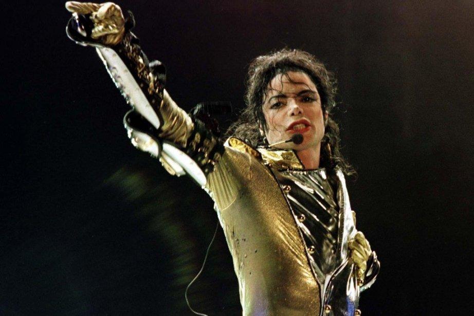 Michael Jackson lors de sa tournée HIStory World... (Photo: archives La Presse)