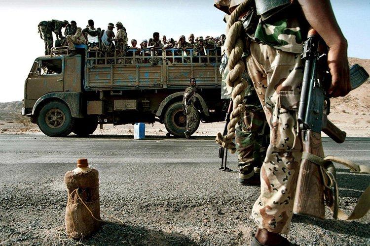 Une guerre meurtrière contre l'Ethiopie avait éclaté en... (Archives AFP)