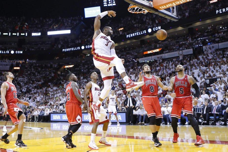 Le Heat de Miami a infligé aux Bulls... (Photo Joe Skipper, Reuters)
