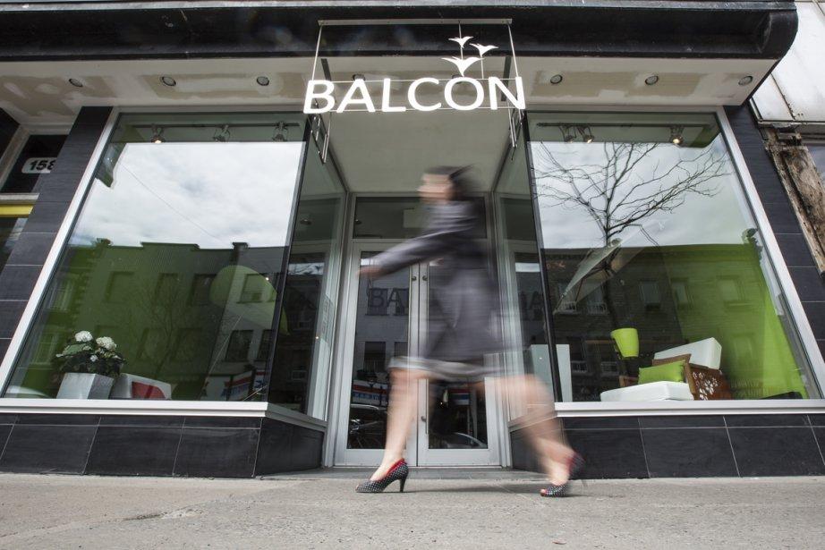 La boutique Le balconier a ouvert ses portes... (Photo Olivier Pontbriand, La Presse)