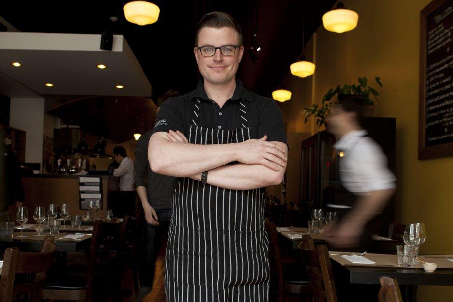 Le chef Danny St-Pierre... (Photo: fournie par le restaurant Auguste)