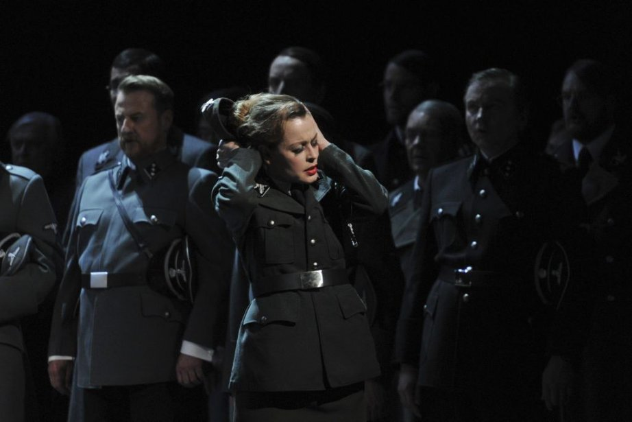 Une scène de l'opéra Tannhäuser de Richard Wagner... (HANS JOERG MICHEL)