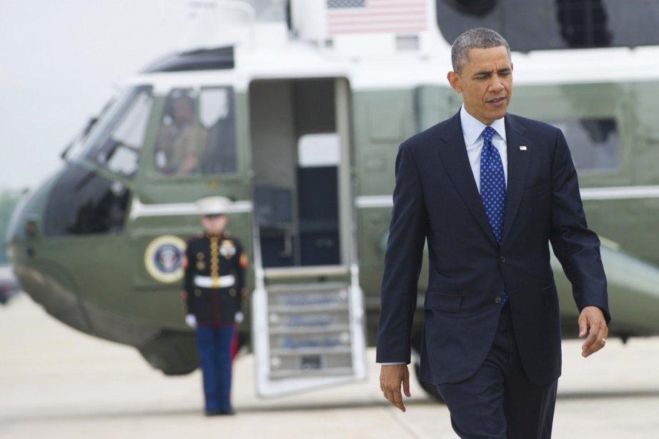 Le président Obama va passer une partie de... (PHOTO SAUL LOEB, AFP)