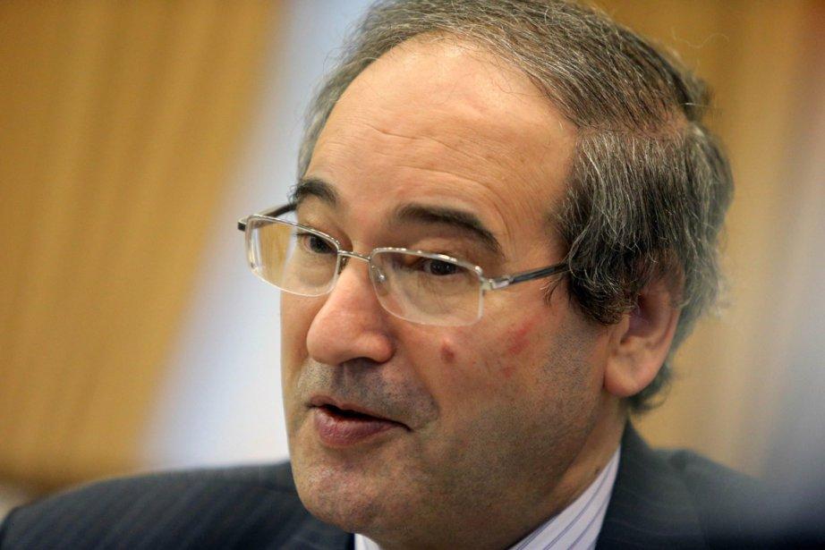 Le vice-ministre syrien des Affaires étrangères Fayçal Moqdad.... (PHOTO JOSEPH EID, AFP)