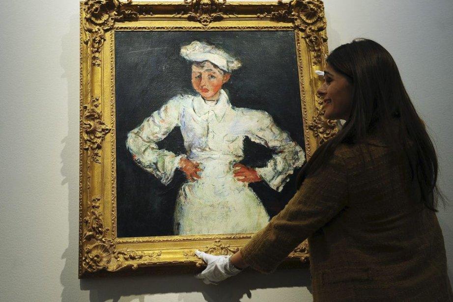 Le petit pâtissier de Soutine... (Photo: AFP)
