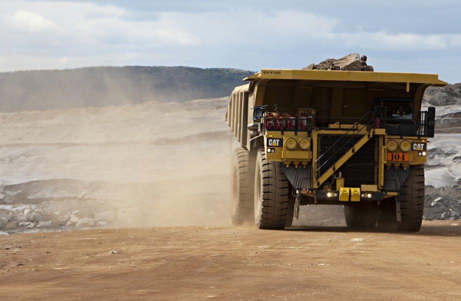 La mine de fer de la Consolidated Thompson,... (Photothèque La Presse)