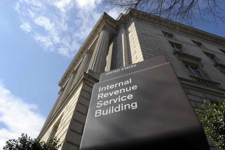 Le Internal Revenue Service (IRS) aux États-Unis affirme... (Photo Susan Walsh, AP)