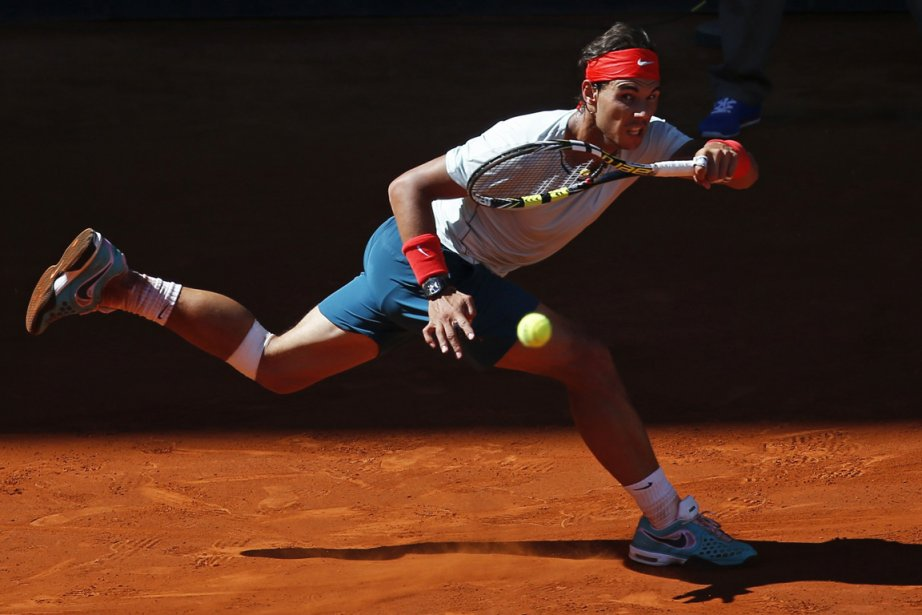 Rafael Nadal a été en grand danger lorsque... (Photo : Juan Medina, Reuters)