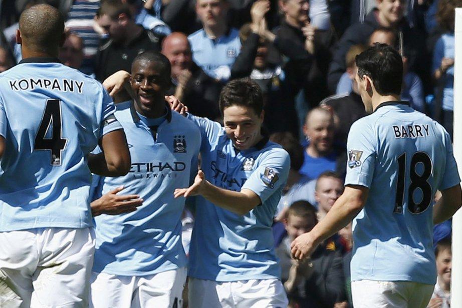 City est l'immense favori contre Wigan, deux saisons... (Photo : Darren Staples, archives Reuters)