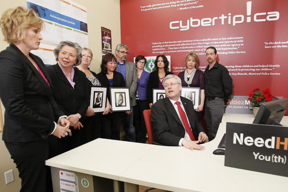 Le premier ministre Stephen Harper a rencontré vendredi,... (Photo JOHN WOODS, PC)