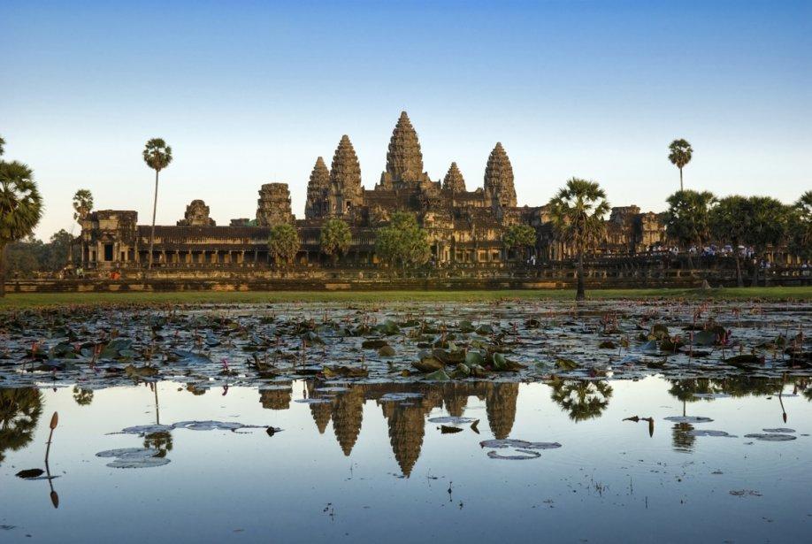 Un temple d'Angkor Wat en fin de journée.... (Photos.com)