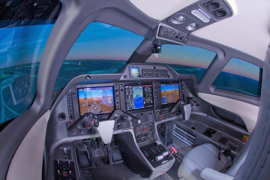 Le meneur mondial dans le marché des simulateurs... (Photo PC)