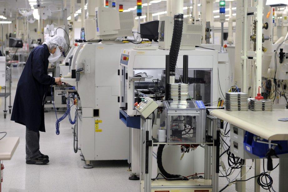 Quarante ans après son inauguration, l'usine IBM de... (Photo Bernard Brault, archives La Presse)