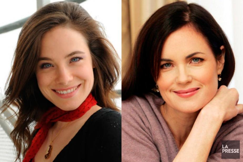 Caroline Dhavernas et Elizabeth McGovern... (Photomontage La Presse)