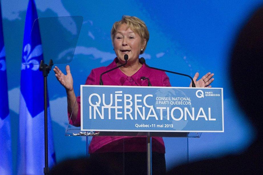 Pauline Marois, première ministre du Québec.... (Photo: PC)