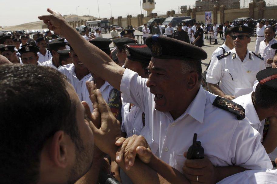 Alors que les autorités égyptiennes annonçaient samedi l'arrestation... (Photo AMR ABDALLAH DALSH, REUTERS)