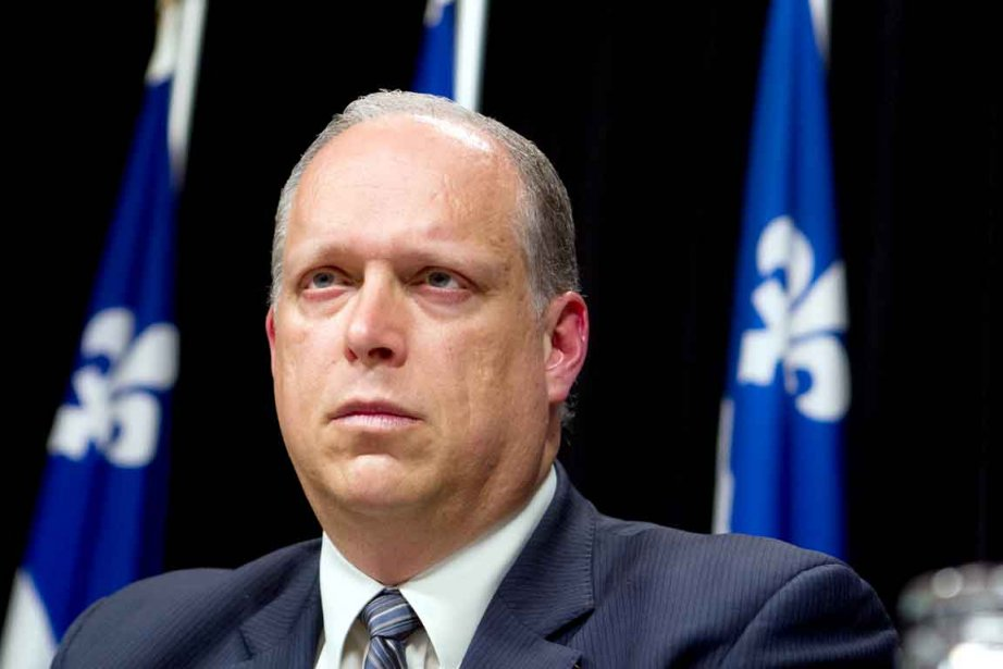 Stéphane Bergeron, ministre de la Sécurité publique... (Photothèque Le Soleil)
