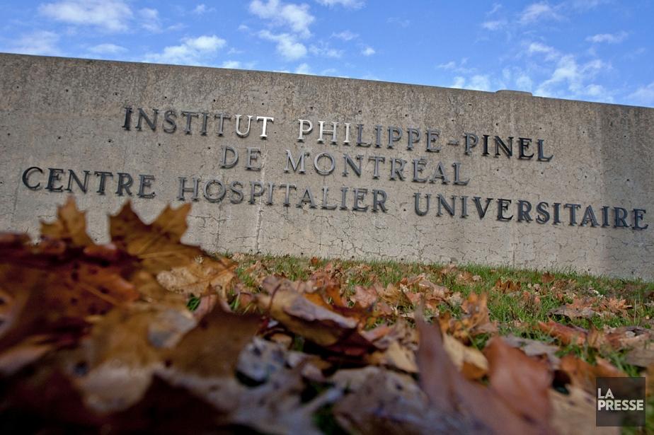 L'Institut Philippe-Pinel à Montréal.... (Photo: Ivanoh Demers, archives La Presse)