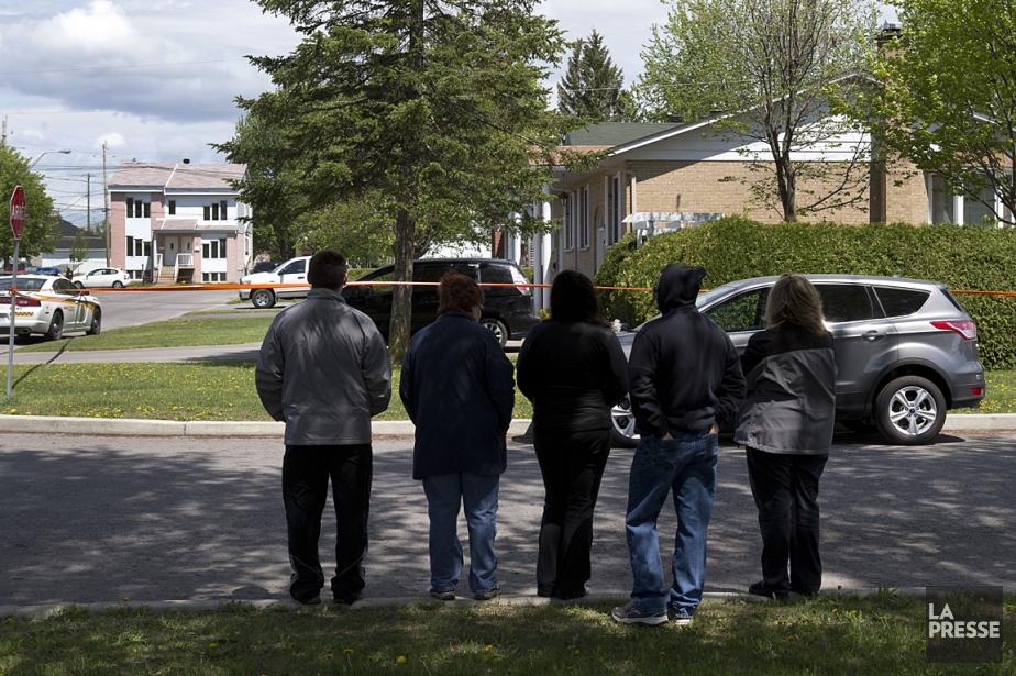 Si les voisins ont semblé étonnés du drame... (Photo: Robert Skinner, La Presse)