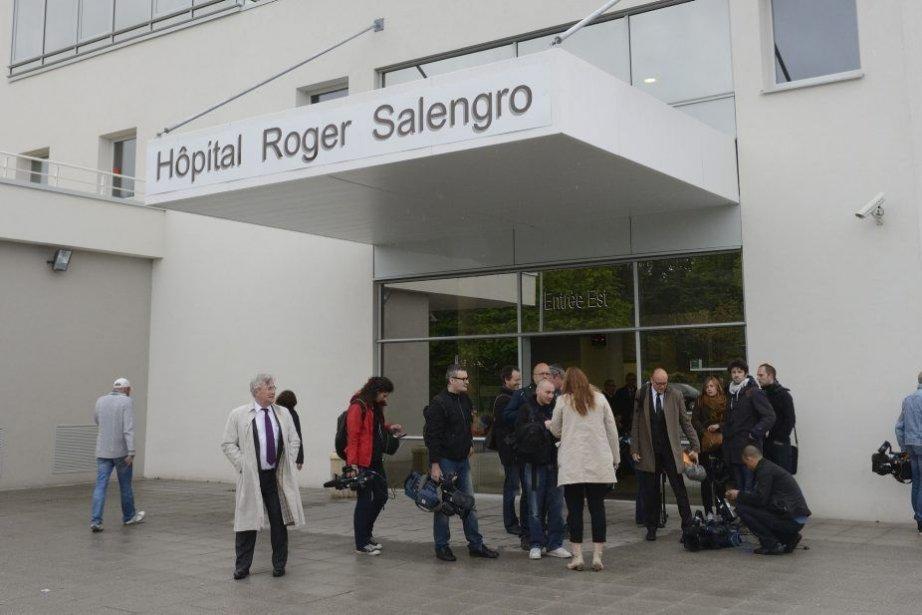 L'hôpital Roger Salengro (CHRU), à Lille.... (Photo DENIS CHARLET, AFP)