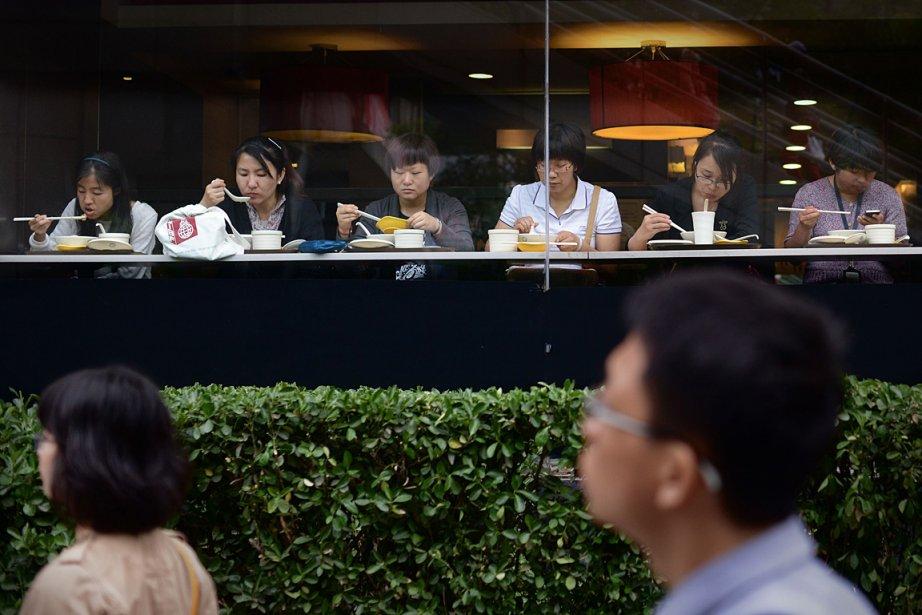 La Chine a connu l'an dernier sa croissance... (Photo: AFP)