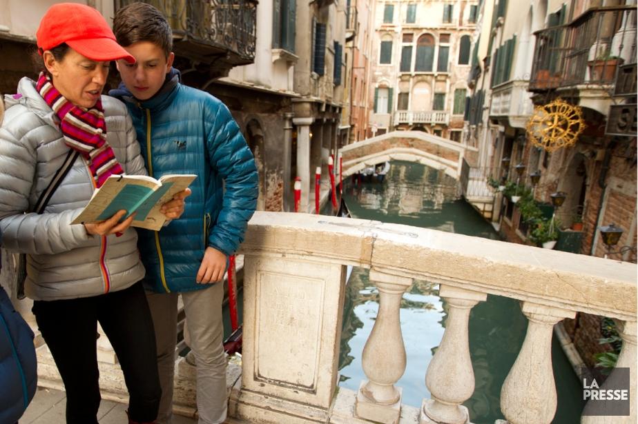 À la chasse aux trésors de Venise.... (Photo Martin Tremblay, La Presse)