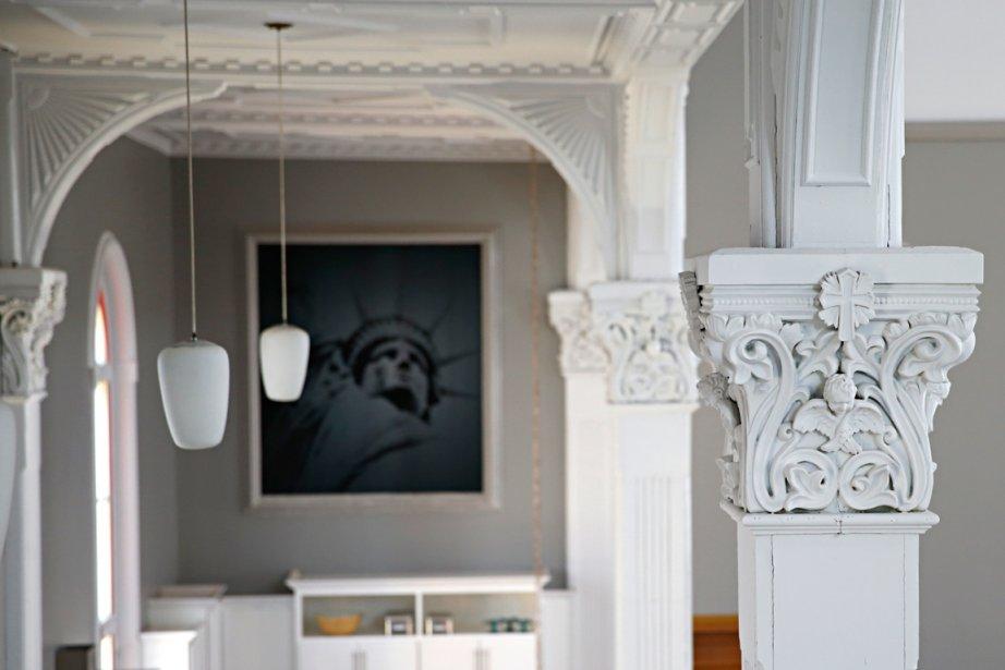 Une habitation riche en petits détails. (Photo David Boily, La Presse)
