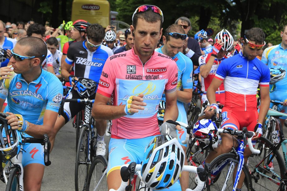 Le détenteur du maillot rose au Tour d'Italie,... (Photo Luk Benies, AFP)