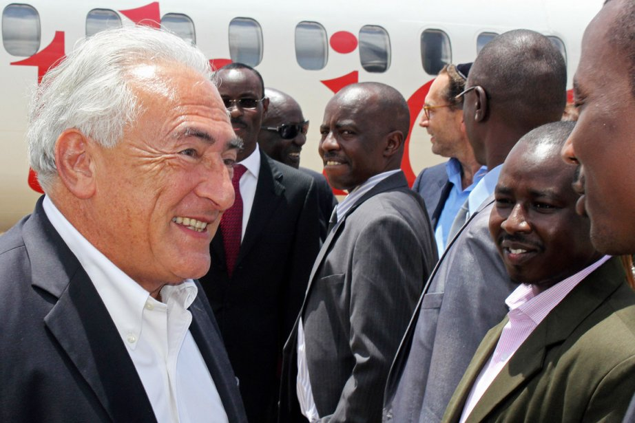 Arrivé ce matin à l'aéroport international de Juba,... (PHOTO WAAKHE WUDU, AFP)