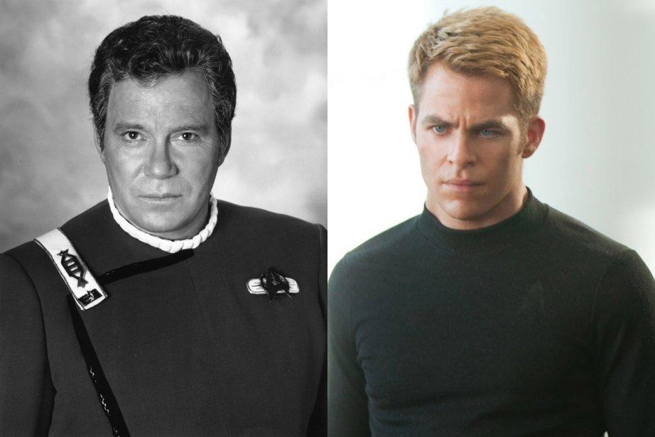 William Shatner et Chris Pine dans le rôle... (Photo: archives La Presse et Paramount Pictures)
