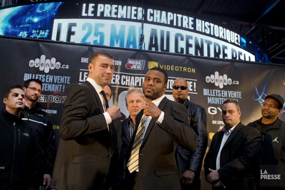 Lucian Bute et Jean Pascal devaient  s'affronter... (Photo Robert Skinner, La Presse)