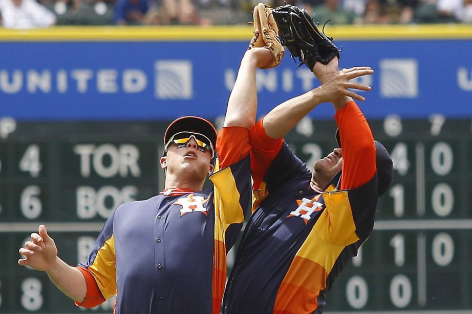 Les Astros de Houston ont une fiche de... (Photo Patric Schneider, AP)
