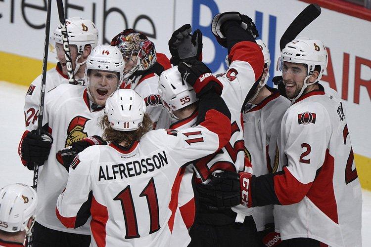 Les Sénateurs d'Ottawa ont prouvé qu'ils pouvaient tromper les... (Photo: PC)