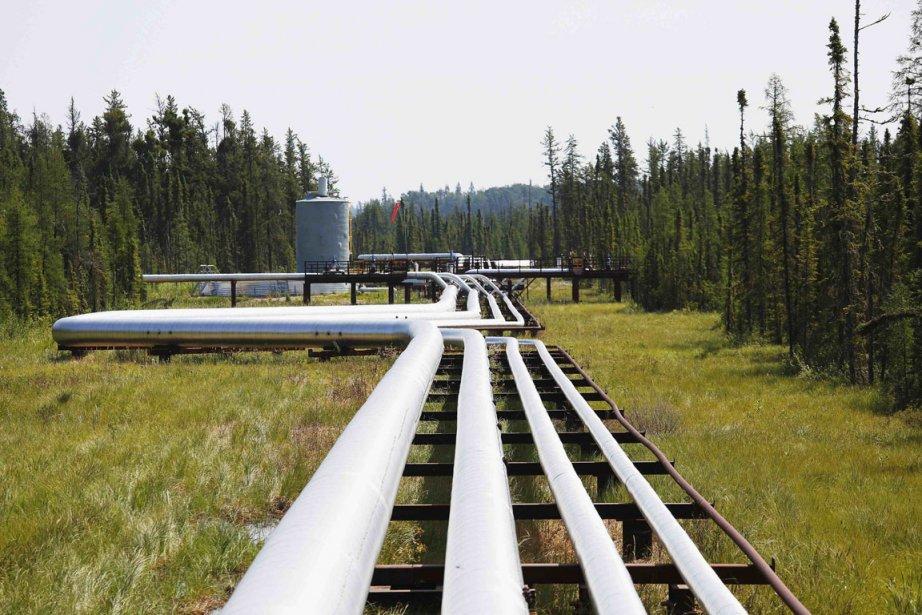 Des oléoducs, en Alberta.... (Photo Todd Korol, Reuters)