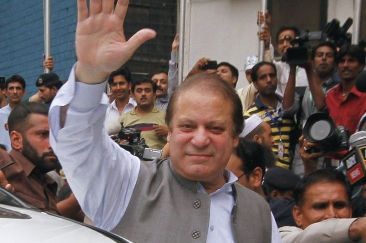 Nawaz Sharif, magnat de l'acier de 63 ans qui... (Photo Reuters)