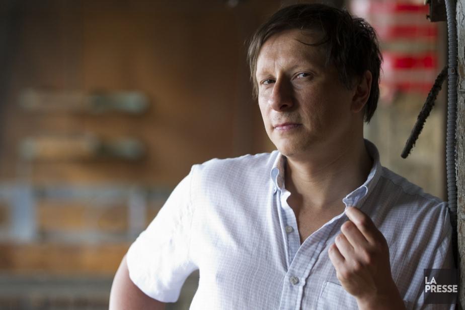 Paul Ahmarani interprète le personnage de l'intrus, Paul.... (Photo: Olivier Jean, La Presse)