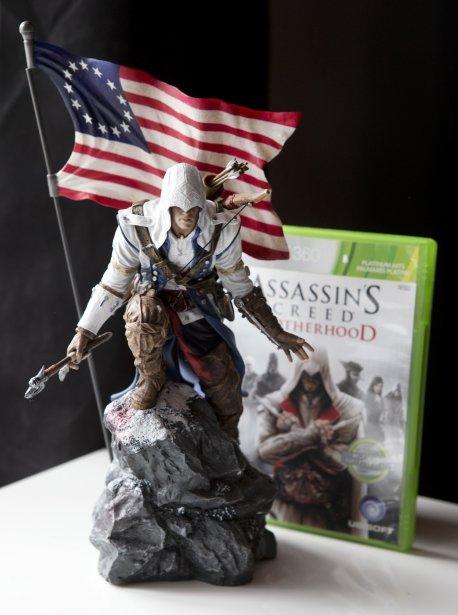 Cette figurine du jeu vidéo Assassin's Creed a été créée par son cousin, qui travaille pour Ubisoft en Chine. Il a été un des premiers en Amérique du Nord à en avoir un exemplaire, ce qui le rend assez fier. «Assassin's Creed est un des jeux les plus cool, dit ce
