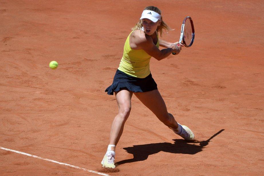 Caroline Wozniacki s'est inclinée en trois manches face... (Photo Gabriel Bouys, AFP)