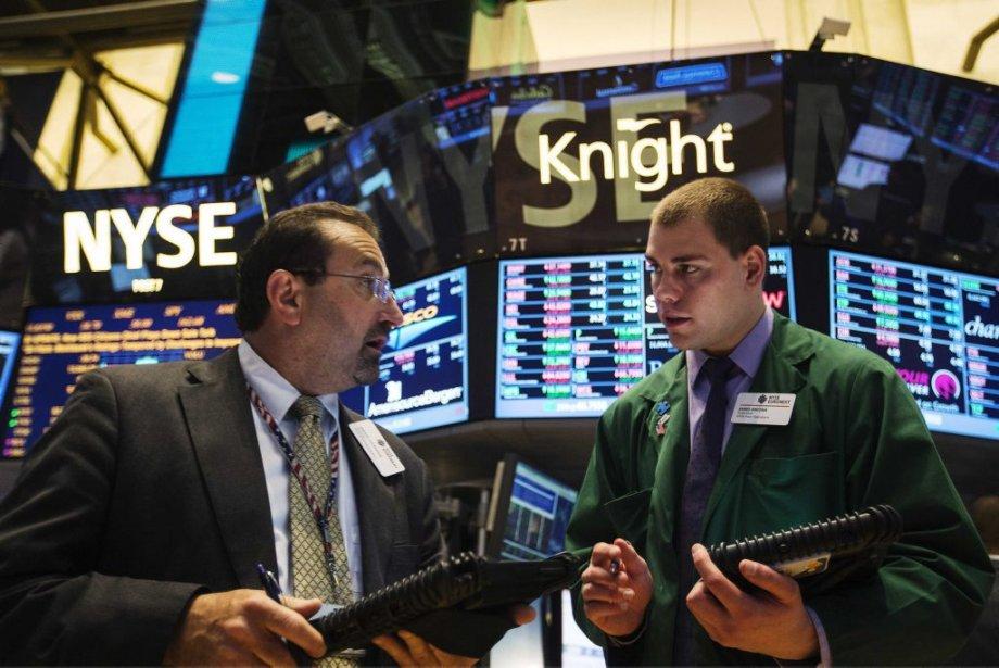 Les Bourses américaines ont profité de l'élan des... (LUCAS JACKSON, REUTERS)