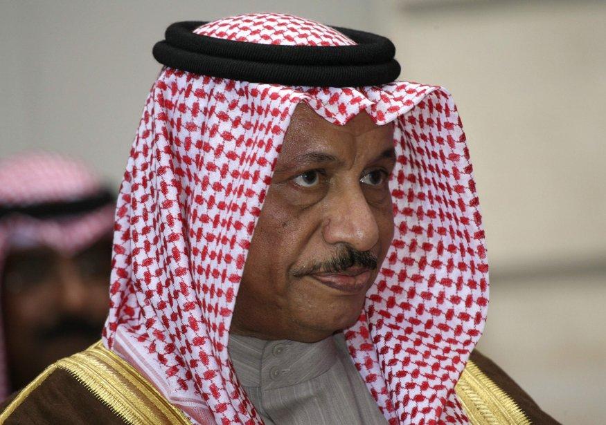 Jaber Moubarak al-Sabah... (Photo Charles Platiau, Reuters)