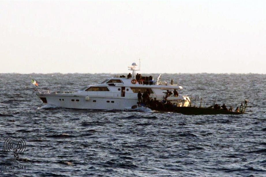 Le 31 mai 2010, le Mavi Marmara et... (Photo archives Reuters)