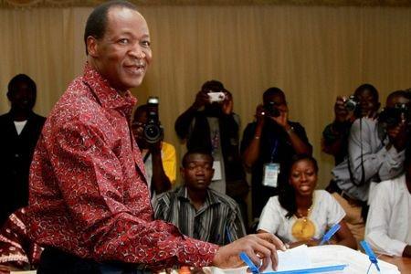 Le président du Burkina Faso, Blaise Compaoré.... (Photo: AFP)