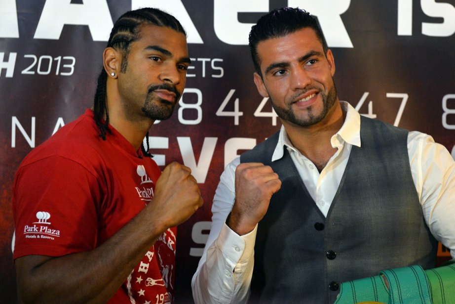 David Haye et Manuel Charr... (Photo Paul Ellis, AFP)