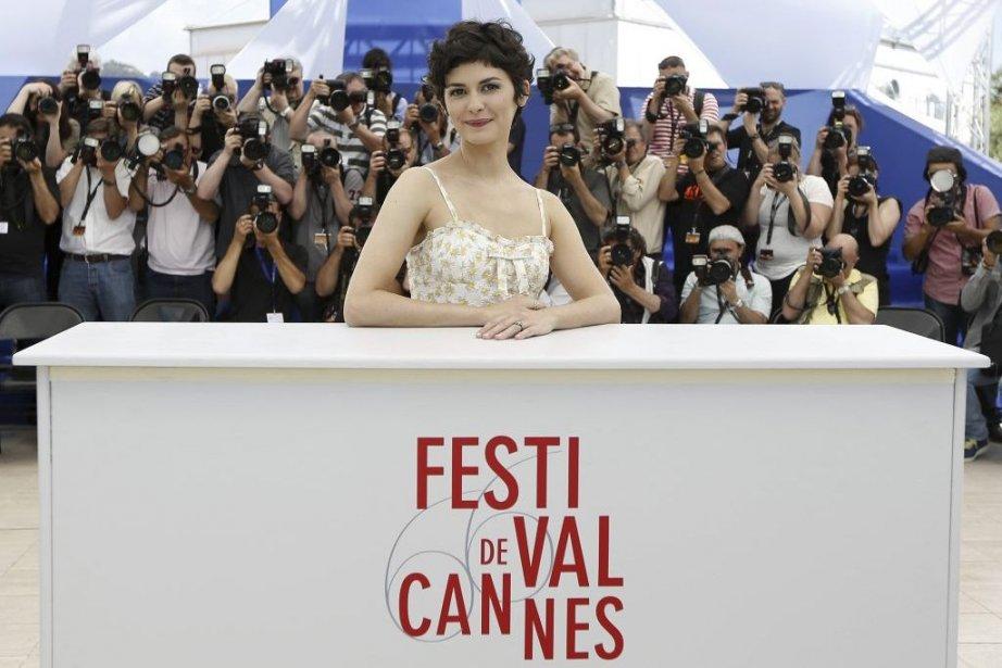 Audrey Tautou à Cannes... (Photo: AFP)